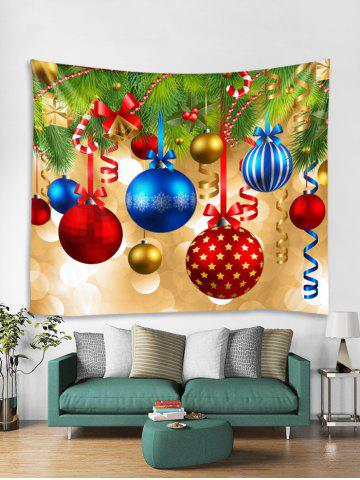 4feb410a406 Christmas Star Bell Ball Pattern Tapestry Art Decoration