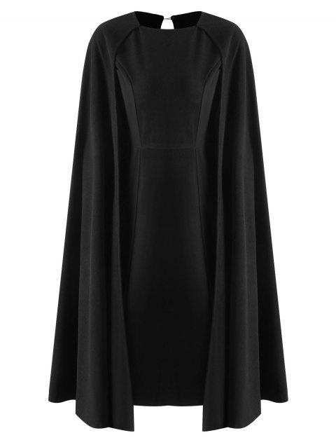 Robe Cape Moulante - Noir S