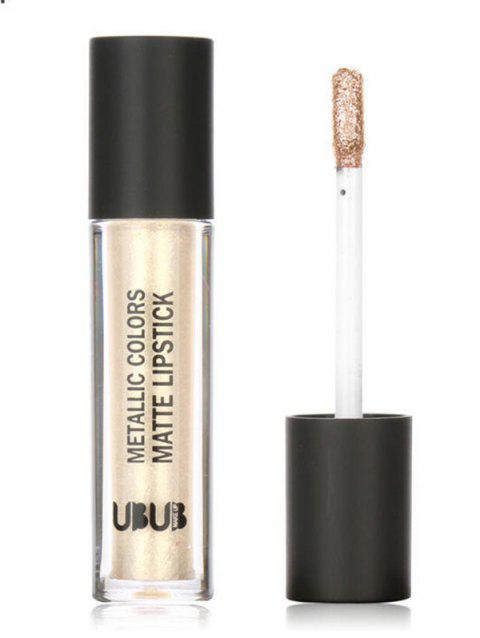 Metallic Glitter Long-Lasting Lip Gloss - 004