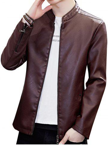 2c3bdeab5eac 2019 Red Leather Jacket Men Online Store. Best Red Leather Jacket ...