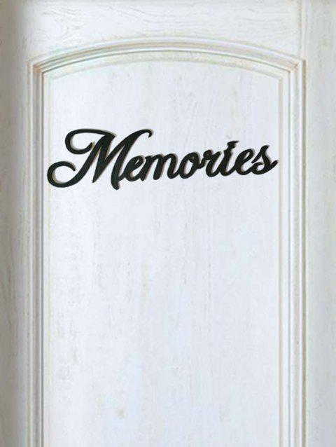 8c2e9a77484 17% OFF  2019 Memories Wooden Letters Sign In BLACK