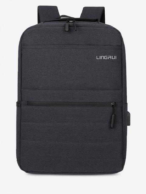 Multifunction High Capacity Business Backpack - BLACK