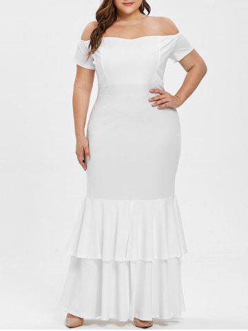 a208ebfab9a 2019 White Off Shoulder Bodycon Dress Online Store. Best White Off ...