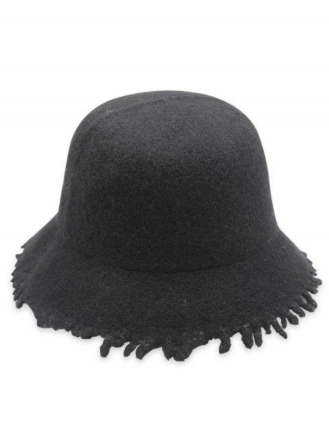 Stylish Foldable Fisherman Hat - BLACK