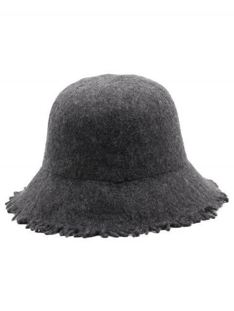 Stylish Foldable Fisherman Hat - DARK GRAY