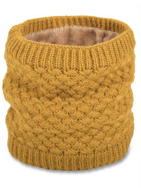 Stylish Winter Fuzzy Knitted Scarf