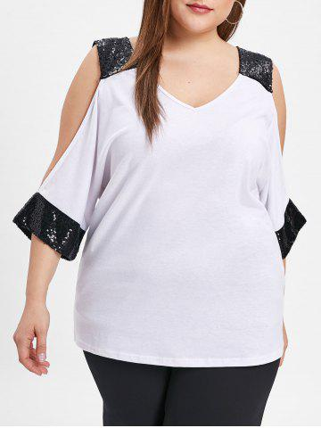 3f250152 2019 White Sequin Top Online Store. Best White Sequin Top For Sale ...