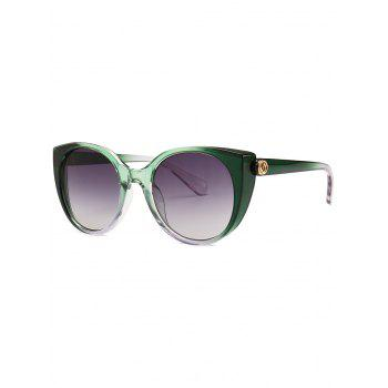 Gradient Butterfly Frame Polarized Sunglasses
