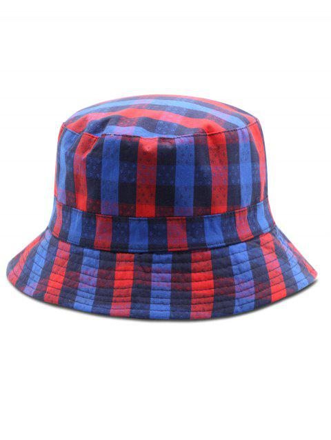 930a70fd217a0 2019 Grid Convertible Bucket Hat In BLUE