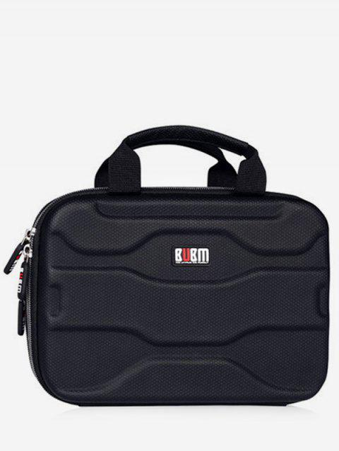 Electronic Products Gadgets Portable Storage Bag - MIDNIGHT BLACK S