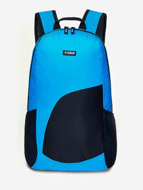 Ultralight Chinlon Bright Backpack - OCEAN BLUE