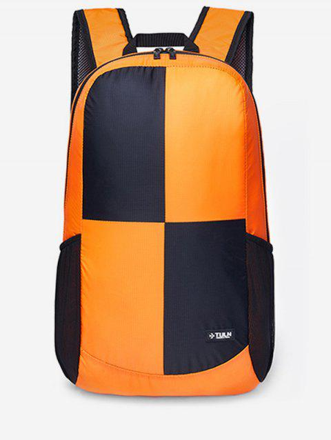 Ultralight Chinlon Bright Backpack - SAFFRON