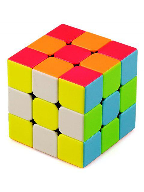 3x3x3 Puzzle Toy Educational Toy Magic Cube - multicolor