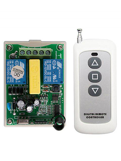 Wireless Remote Control and Relay Receiver Module - WHITE