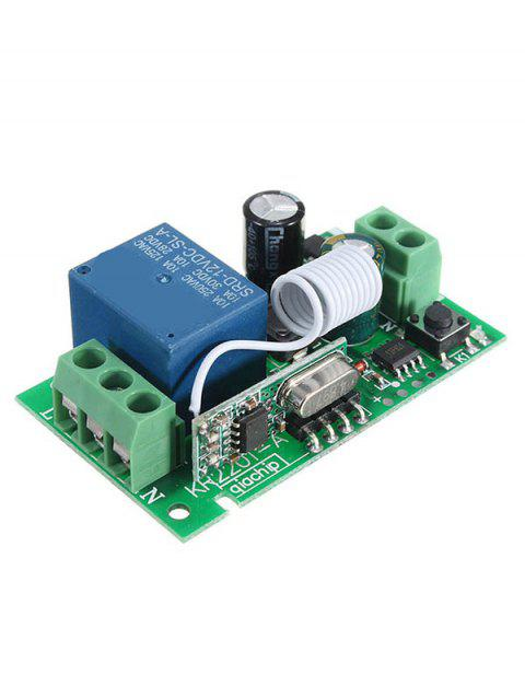 315/433 Mhz Relay Receiver Module - SEAWEED GREEN