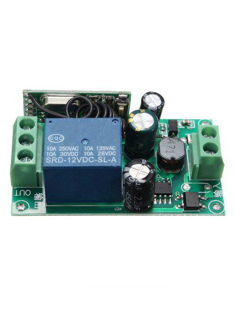 315/433 Mhz 1 Channel Relay Receiver Module - JUNGLE GREEN