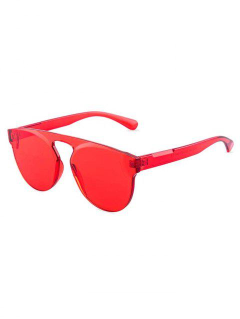 Stylish High Definition Sunglasses - RED
