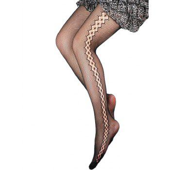 Dresslily coupon: See Through Fishnet Tights