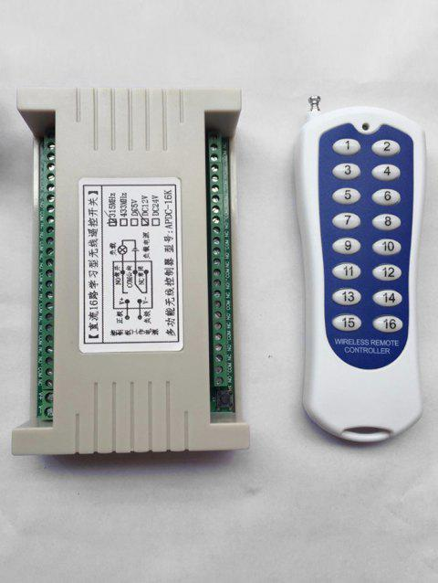 RF Wireless Remote Switch Control and Universal Relay Receiving Module - WARM WHITE