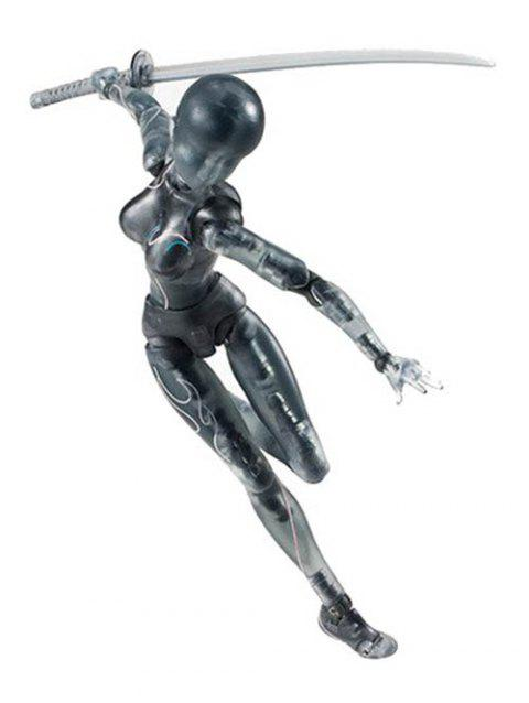 Figma Doll Man Action Figure PVC Movable Hand Model - BLACK FEMALE