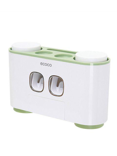 Automatic Extrusion Toothpaste Holder - GREEN