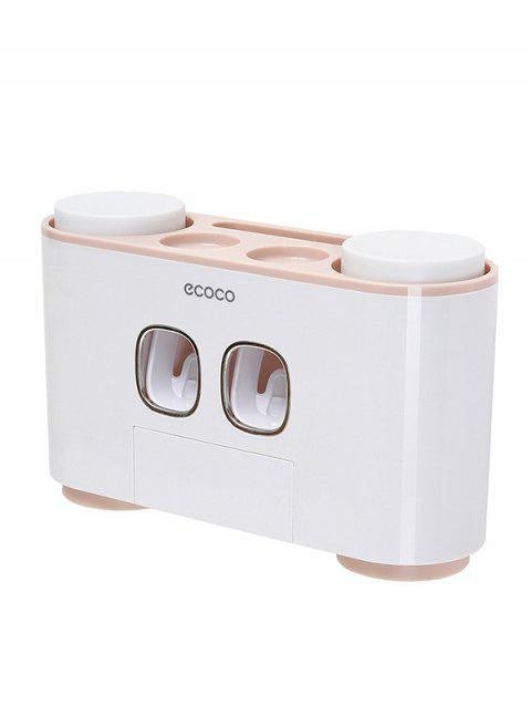 Automatic Extrusion Toothpaste Holder - PINK