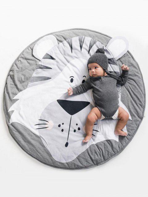 Animals Pattern Soft Crawling Mat Baby Game Mat - multicolor LION