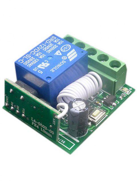 DC 12V Wireless Relay Receiver Module - SHAMROCK GREEN