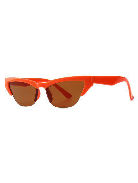 Chic Cat Eye Sunglasses - TANGERINE