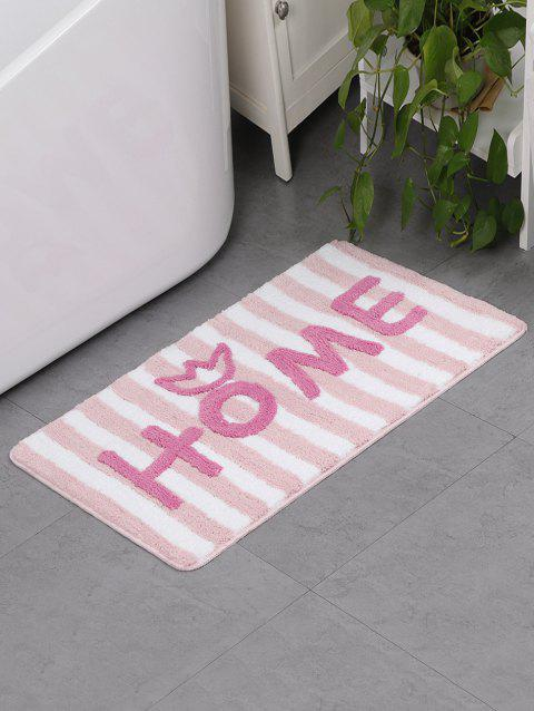 Letters Pattern Water Absorption Area Rug - multicolor D 50 X 80CM