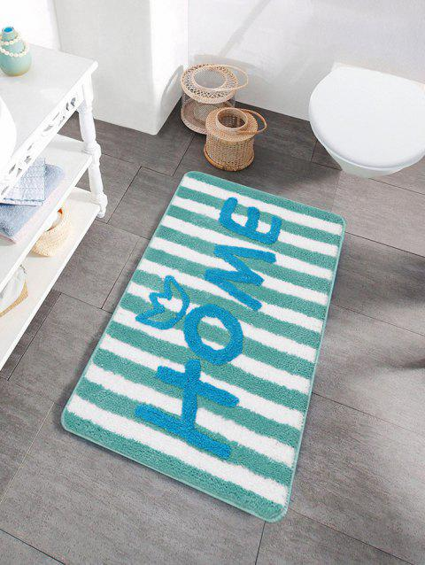 Letters Pattern Water Absorption Area Rug - multicolor C 50 X 80CM