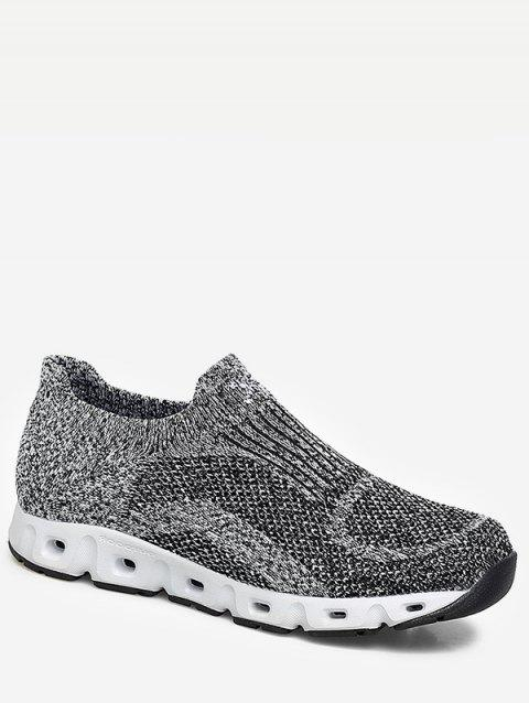 Slip On Sport Sneakers - GRAY EU 44