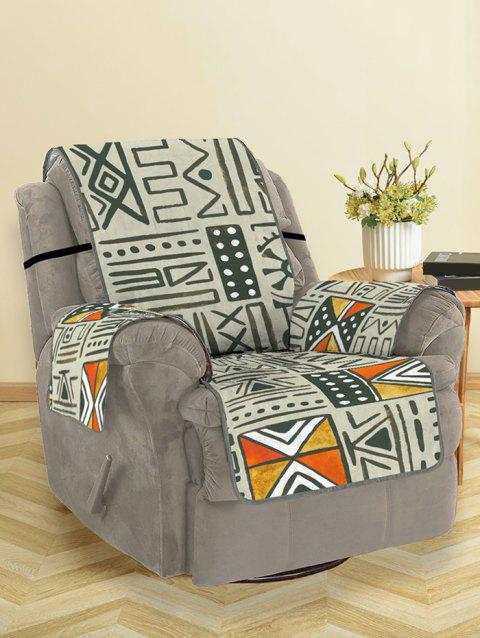 Tribal Pattern Couch Cover - multicolor SINGLE SEAT