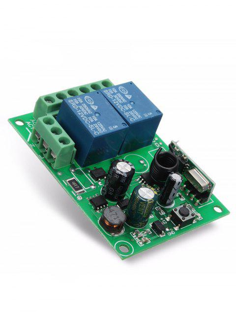 2 Channel Relay Receiver Module - MEDIUM FOREST GREEN