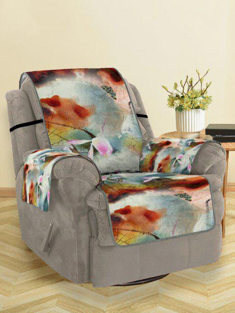 Retro Design Couch Cover - multicolor SINGLE SEAT
