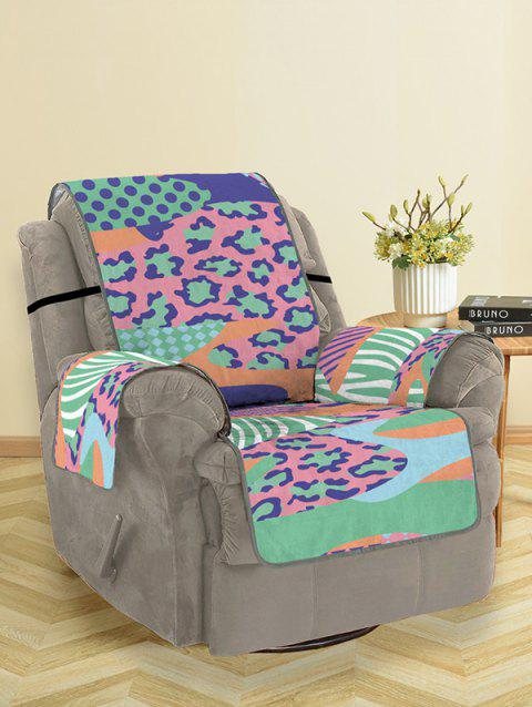Bohemian Pattern Couch Cover - multicolor SINGLE SEAT