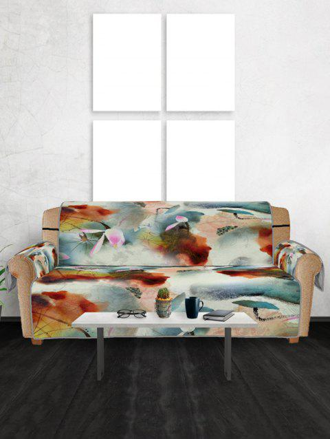 Retro Design Couch Cover - multicolor THREE SEATS