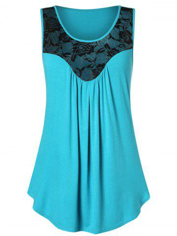 0b77a79dc9ad52 2019 Green Lace Tank Top Online Store. Best Green Lace Tank Top For ...