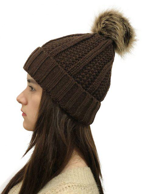 Winter Durable Knitted Hat - COFFEE 1PC