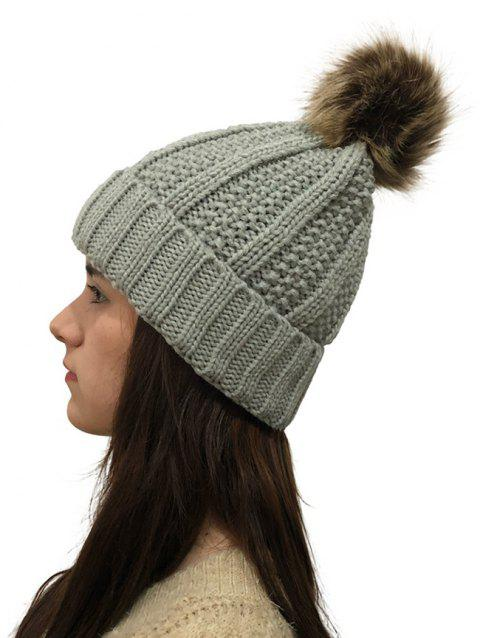 Winter Durable Knitted Hat - LIGHT GRAY 1PC