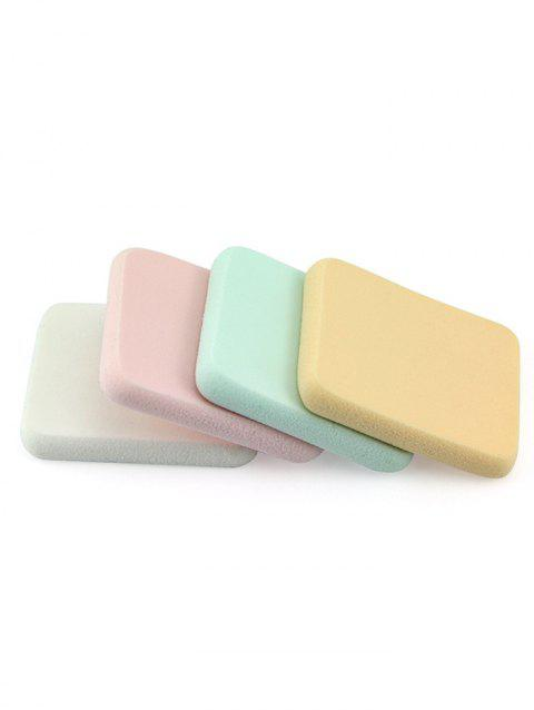 Square BB Cream Wet and Dry Makeup Sponges - multicolor