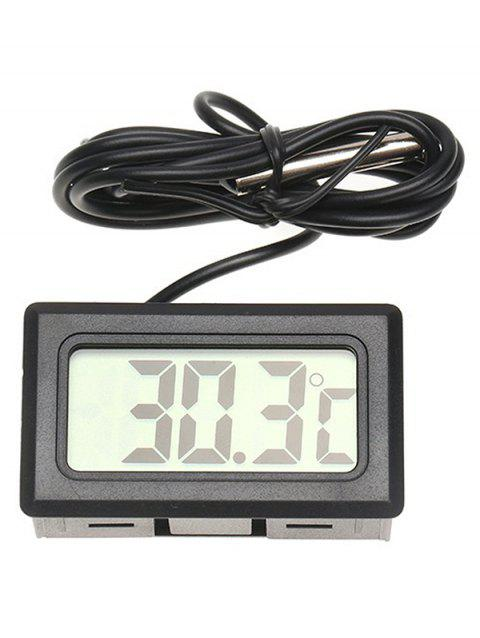 Digital Electronic Refrigerator Thermometer - BLACK