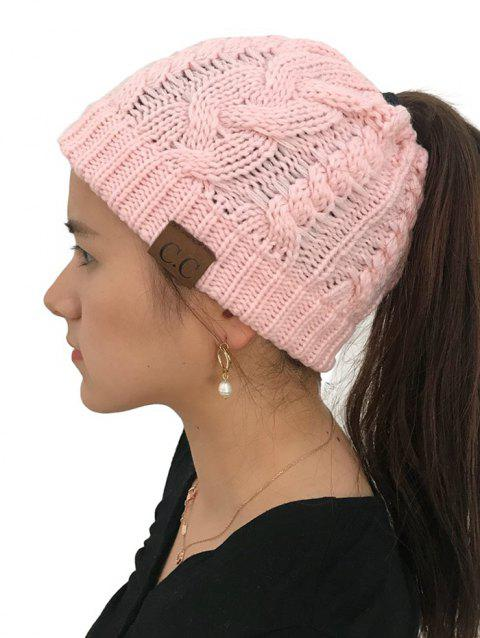 Winter Knitted Simple Style Hat - PINK 1PC