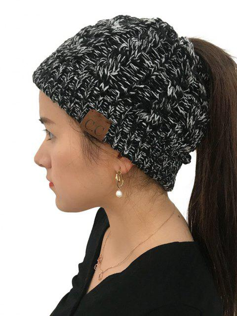 Winter Knitted Simple Style Hat - NIGHT 1PC
