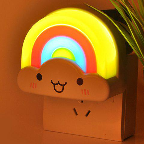 Voice Control Rainbow Bedside Desk LED Night Light