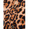 Leopard Print Light Shirt - LIGHT BROWN M