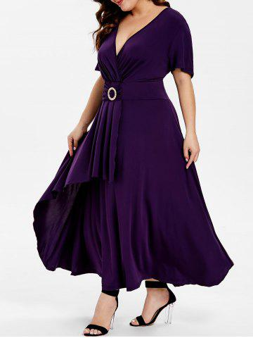8a5ba01f7d Short Sleeve High Waist Flare Dress