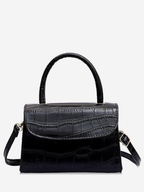 Sac Fourre-tout Style Simple Animal en PU - Noir