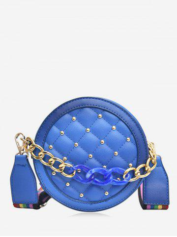 Rivet Rainbow Strap Quilted Canteen Bag