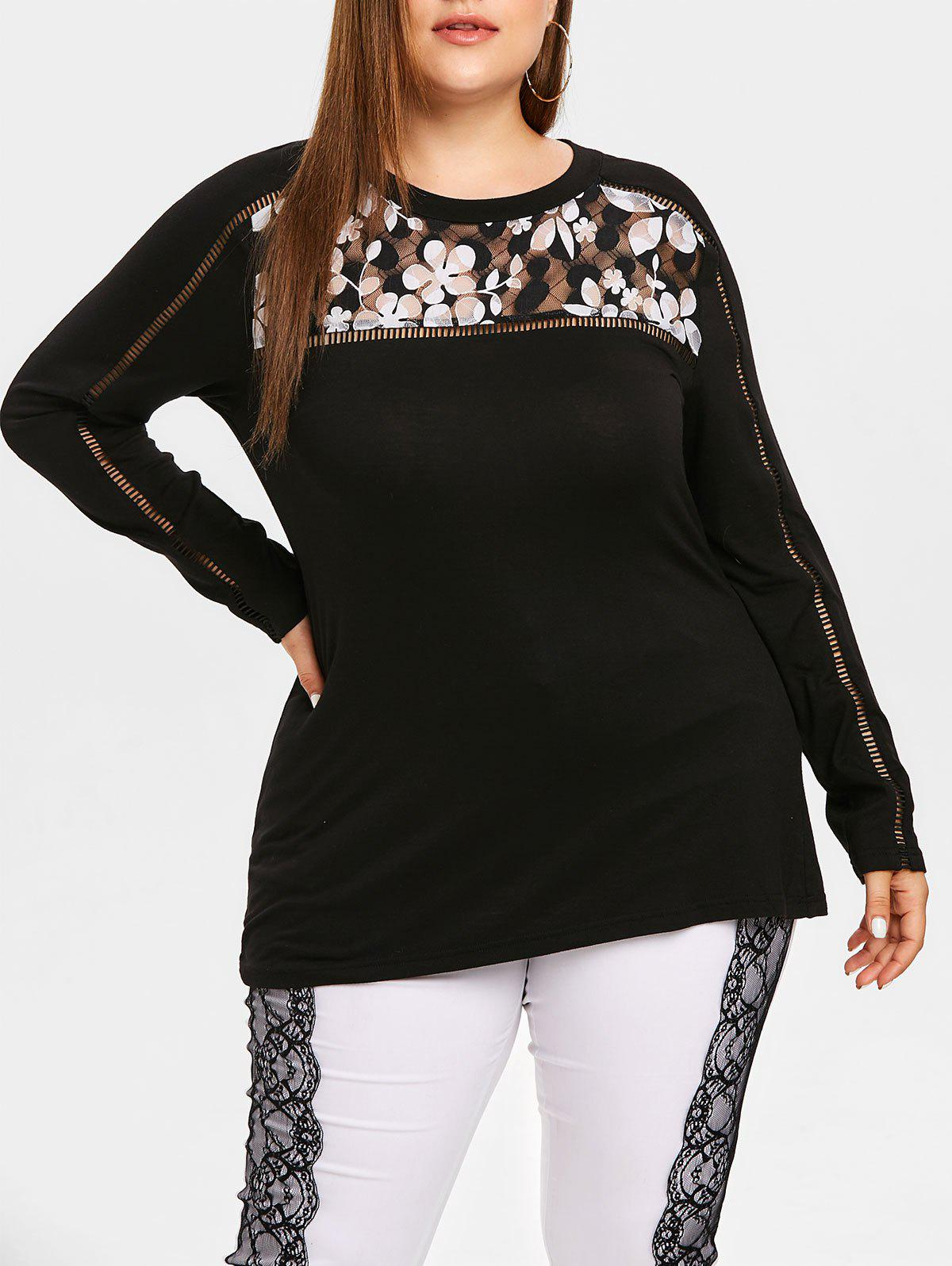 Plus Size Long Sleev